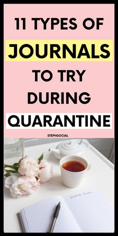 Stuck in quarantine? 11 Journal Ideas To Try! Things to do when bored Bullet Journal How To Start A, Keeping A Journal, Bullet Journal Ideas Pages, How To Journal, Dream Journal, Junk Journal, Productive Things To Do, Things To Do At Home, Types Of Journals