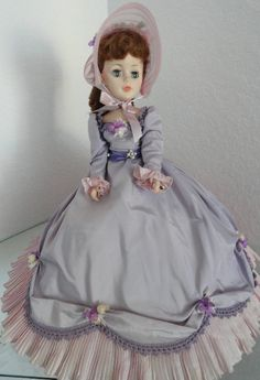 "Agatha is a vintage 21"" Madame Alexander Portrait Doll. She is in exc. condition w.orig. box and available for only $139 w.FREE US SHIPPING at http://kinderlanddolls.net/Agatha_Mdm.php"