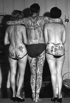 ok...it must be said...these ladies have some of the flattest butts I've ever seen