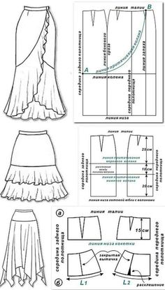 Amazing Sewing Patterns Clone Your Clothes Ideas. Enchanting Sewing Patterns Clone Your Clothes Ideas. Sewing Dress, Skirt Patterns Sewing, Sewing Patterns Free, Free Sewing, Sewing Clothes, Sewing Tutorials, Clothing Patterns, Sewing Projects, Sewing Tips
