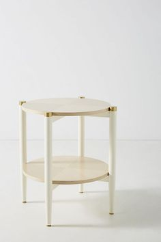 Slide View: 1: Geo-Marquetry Side Table