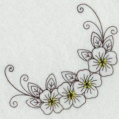 Embroidery Patterns With Instructions unlike Embroidery Jackets via Machine Embroidery Vintage Truck Designs Flower Embroidery Designs, Embroidery Patterns Free, Vintage Embroidery, Floral Embroidery, Flower Designs, Machine Embroidery Designs, Embroidery Stitches, Embroidery Sampler, Indian Embroidery