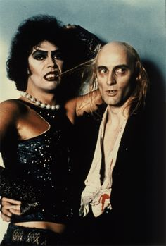 Tim Curry as Dr. Frank-N-Furter   Richard O'Brien as Riff Raff