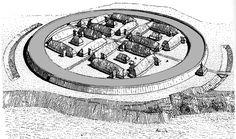 Trelleborg. Viking Urban Planning, around year 980.
