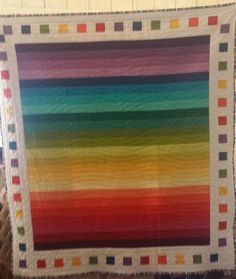 Rainbow jelly roll-just picture, no tutorial