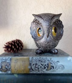 Freeman & McFarlin Pottery Owl  1970s Iconic by AlteredArcheology