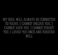 I miss you J