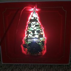 White House Historical Association Christmas Ornament 2015 with Box President
