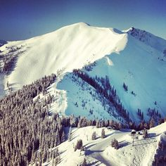 The secret is out...Highland Bowl is the place to be. Conditions are awesome right now. Go get it! #Padgram