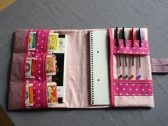 Sewing Kit Pouch Ideas 22 New Ideas Wallet Sewing Pattern, Sewing Kit, Sewing Patterns, Diy Couture, Couture Sewing, Sewing Projects For Kids, Sewing Crafts, Sewing Hacks, Creation Couture
