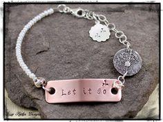 www.lissa73.etsy.com Dandelion bracelet