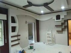 ....... Stone Interior, Floor Design, Niche Design, Salon Interior Design, Hall Interior, False Ceiling Design, Living Room Wall Units, New Ceiling Design, Wall Design