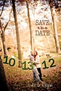 Unique Save The Dates, Save The Date Photos, Wedding Save The Dates, Save The Date Cards, Unique Wedding Invitations, Save The Date Invitations, Diy Invitations, Invites, Fall Wedding