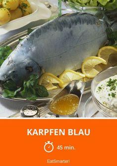 Karpfen blau - smarter - Zeit: 45 Min. | eatsmarter.de