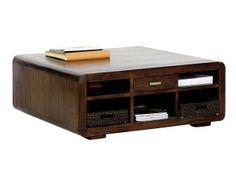 mesa de teca teñida de Banak Importa
