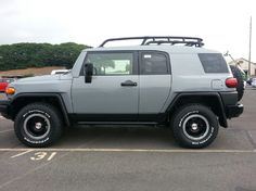 """So this FJ Cruiser in the """"Cement"""" color is my first choice of a new vehicle... I really like it!"""