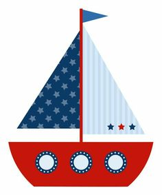 Sailor Baby Showers, Baby Boy Shower, Applique Patterns, Applique Designs, Nautical Clipart, Nautical Party, Summer Crafts, Baby Cards, Baby Quilts