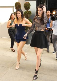 blxck-diamonds:  kendallandkyliefashiondiary:  FEB 22: KENDALL AND KYLIE HEADING TO THE MADDEN GIRL LAUNCH  SLAY is all I'm saying