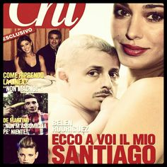 santiago: everything looks like his dad... Pahahahah #belen #gossip #news #divas