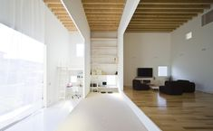 (guest room) layered house. jun igarashi