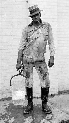 The Iceman [Texas, 1920's]