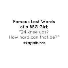 #kaylaitsines #kaylasarmy #thekaylamovement #doingkayla #bbg #bbggirls #bbgmeme #motivation #fitness #fitfam #fitspo #cardio #bikinibodyguide #workout #exercise