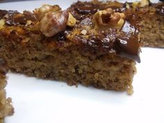 Sweet Desserts, Sweet Recipes, Gluten Free Recipes, Banana Bread, Eat, Food, Essen, Meals, Gluten Free Menu