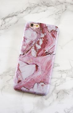 Adding some more rose to your life ❤️ Rose Marble case for iPhone 6/6s & 6 Plus/6s Plus from Elemental Cases