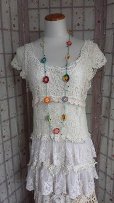 Check out this item in my Etsy shop https://www.etsy.com/listing/533680484/romantic-bohemian-wedding-dress-gypsy