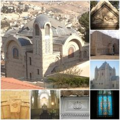 Christian Sites on Mount Zion  www.fjisrael.com