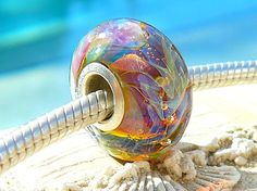 RIPCURL OPAL Fully Lined Sterling Silver Big by beachlifebeads, $24.00