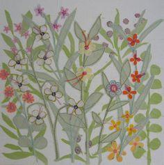 Flower Meadow canvas £18.00