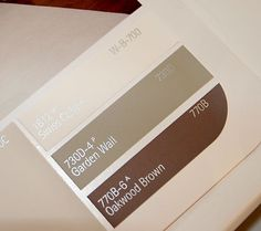 Behr Paint Color Dry Brown