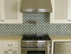 Cement Tile Kitchen backsplash fro cementtileoutlet.com