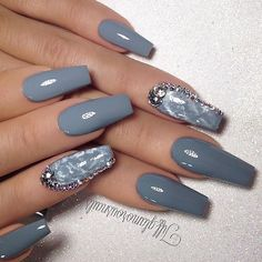 """NAIL INSPO (@theglitternail) on Instagram: """"✨ : Picture and Nail Design by •• @tiff_glamorousnails ••"""