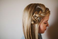 Learn the 5-Minute Scrunch Braid via Brit + Co.