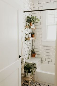 Mesmerizing Home Remodeling Contractor Project Planning Ideas - Home Renovation Design Bathroom Renovation Reveal — Carla Natalia - Renovation Design, Architecture Renovation, Modern Small Bathrooms, Modern Bathroom, Natural Bathroom, Small Bathroom Ideas On A Budget, French Bathroom, Bathroom Images, Classic Bathroom