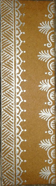 Border element for mandana Rangoli Borders, Rangoli Border Designs, Small Rangoli Design, Rangoli Patterns, Rangoli Ideas, Rangoli Designs Latest, Rangoli Designs Diwali, Rangoli Designs Images, Beautiful Rangoli Designs