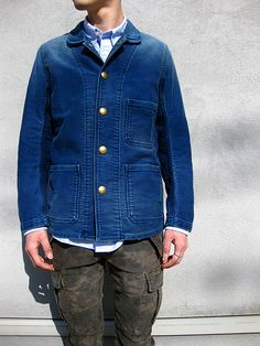 Visvim Blue Fashion, Denim Fashion, Elegantes Business Outfit, Mood Indigo, Autumn Winter Fashion, Winter Style, Fall Winter, Blue Denim Jeans, Business Outfits