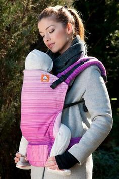 Spectrum Sweet Pea Fuschia Weft TULA BABY CARRIER