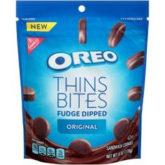 Buy Nabisco Oreo Thins Bites Fudge Dipped Mint Creme Sandwich Cookies oz) from Hy-Vee online and have it delivered to your door in as fast as 1 hour. Your first delivery is free. Nabisco Oreo, Oreo Thins, Cream And Fudge, Ice Cream, Oreo Flavors, Oreo Fudge, Crispy Cookies, Sandwich Cookies, Candy Shop