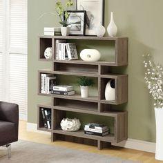Bookcase Modern Reclaimed-Look