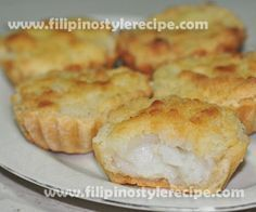 Filipino Style Recipe: Buko tart is another popular Filipino delicacy and pasalubong from southern Luzon specially in the province of Laguna . Buko tart is a Pinoy Dessert, Filipino Desserts, Asian Desserts, Filipino Recipes, Filipino Food, Pinoy Recipe, Best Filipino Egg Pie Recipe, Asian Recipes, Asian Snacks