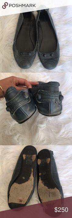 Balenciaga Arena Flats Moderate wear but in good condition! Balenciaga Shoes Flats & Loafers