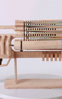 6 | Insane Toy Gatling Gun Fires 672 Rubber Bands In Less Than A Minute | Co.Design | business + design