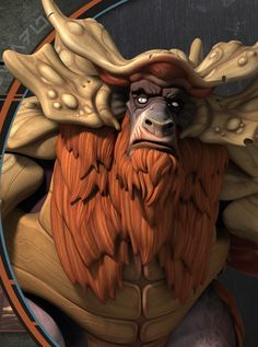 The Bendu return to the Star Wars canon through the appearance of a strange creature voiced by Doctor Who's Tom Baker. http://starwars.wikia.com/wiki/The_Bendu