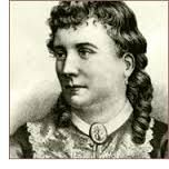 Mary Elizabeth Braddon - writer of Lady Audley's Secret and so much more.  One of the most exciting, and entertaining Victorian novelists. Learn more here:  http://www.secretvictorianist.com/search/label/Mary%20Elizabeth%20Braddon