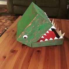 Schön My Daughteru0027s Dinosaur Valentine Box!
