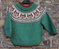 Rævestreger, nyt design til salg i mit varehus Knitting For Kids, Baby Knitting, Er 5, Baby Sweaters, Pullover, Happy Kids, Pulls, Handicraft, Christmas Sweaters