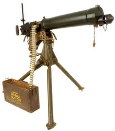 WWII Vickers Machinegun, Holy S*** That's Intimidating To This Day!